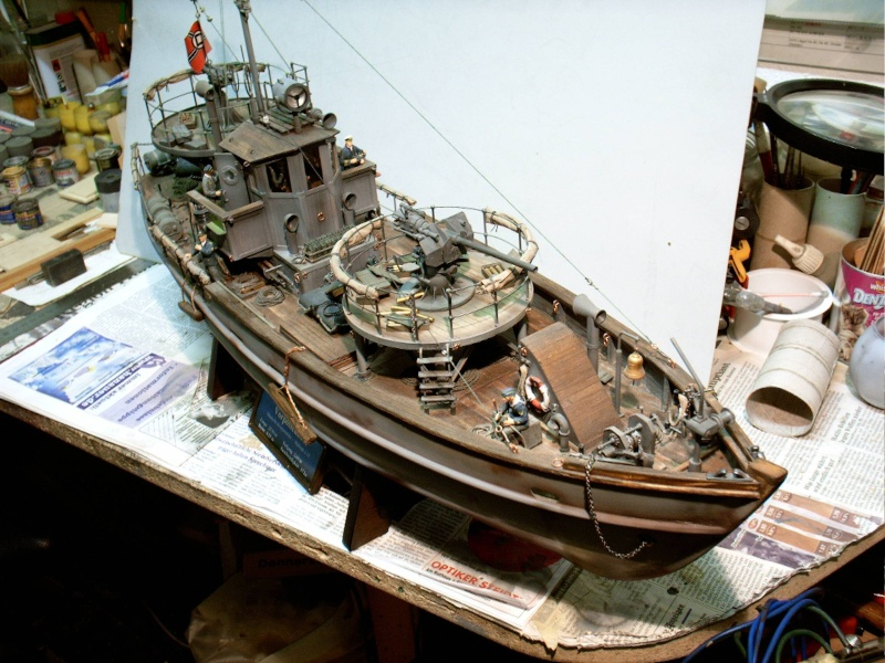 RC-Kriegsfischkutter in 1/35 Kfk_v110