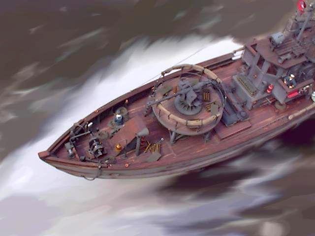 Fiktives deutsches Vorpostenboot oder Kriegsfischkutter 1944 Kfk_vo11