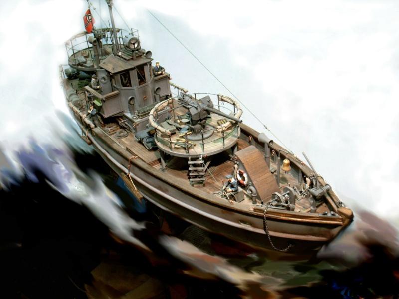 Fiktives deutsches Vorpostenboot oder Kriegsfischkutter 1944 Kopie_10