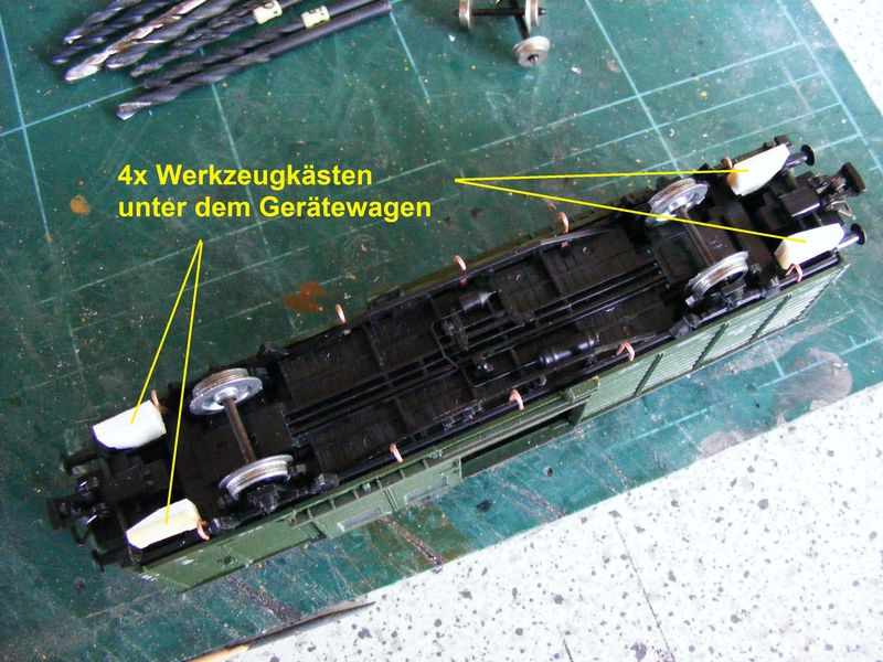 Standardhilfszug der Deutschen Reichsbahn (DR), Epoche III Zusatz17