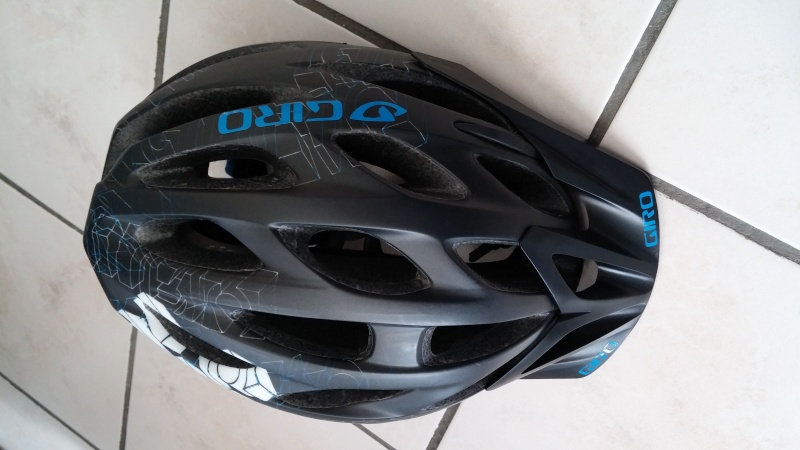 Vends Casque Giro Phase Noir/Bleu Casque10