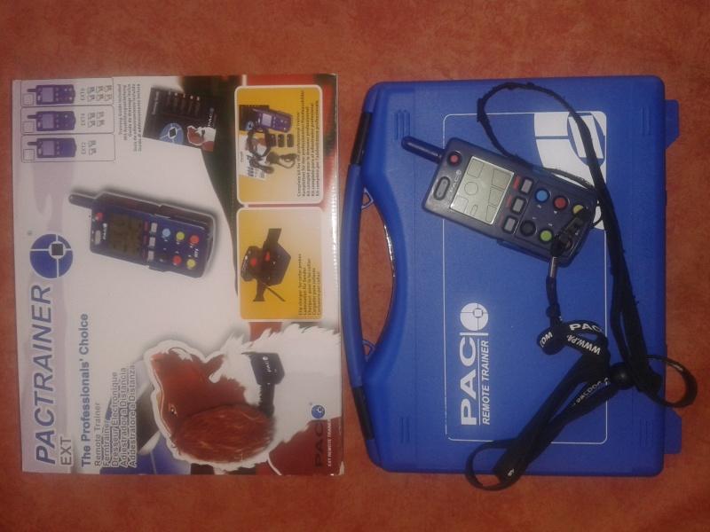 A vendre télécommande dressage PAC EXT6 avec 6 colliers Photo_10