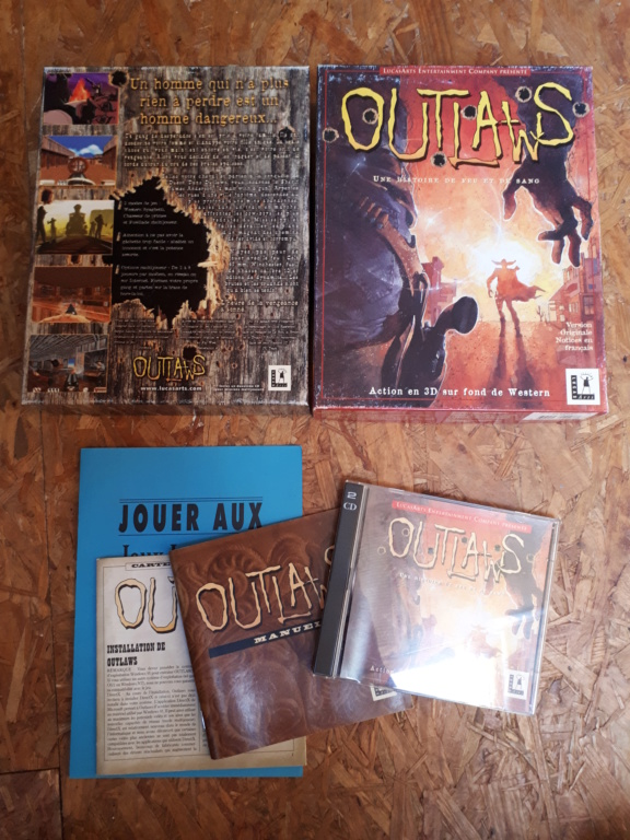 [VENDS] Outlaws (LucasArts) 20190410