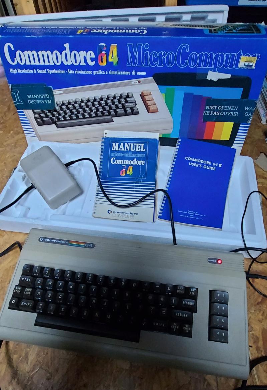 [VENDS] Commodore 64 en boîte (100% fonctionnel) + lecteur de cassette 20210158