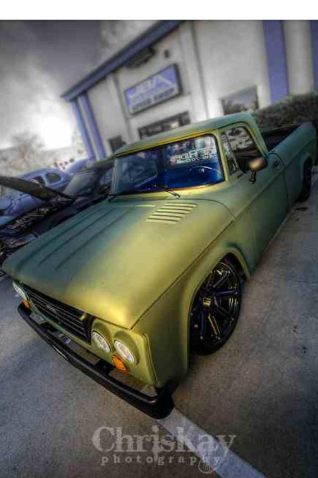 How about some pics of bagged sweptline dodge trucks Fernad11