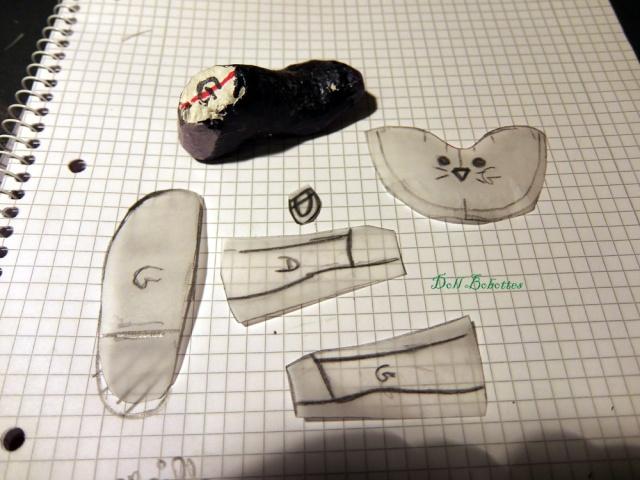 *Doll Bootsie, chaussures poupées* Tutoriel geta japonaise - Page 12 Patron10