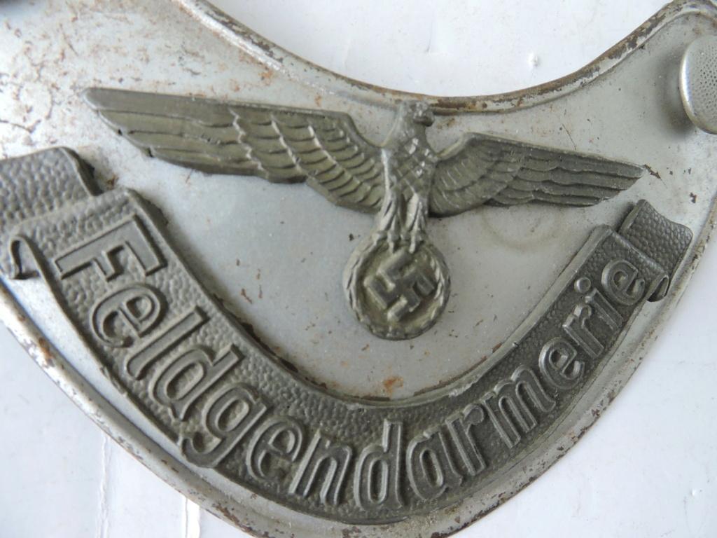 plaque de poitrine de la Felgendarmerie Dscn1216