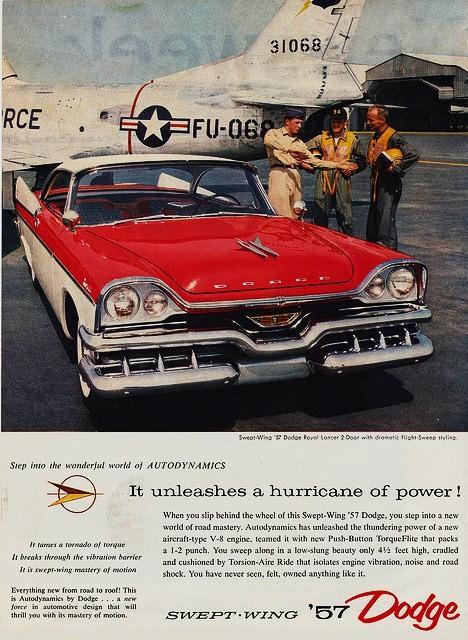 publicités vintage us  57dodg10