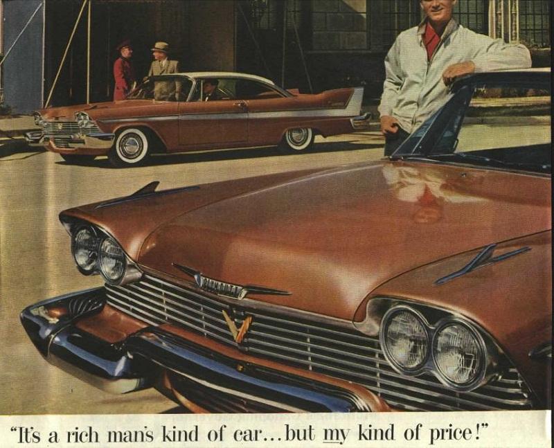 publicités vintage us  58plym10