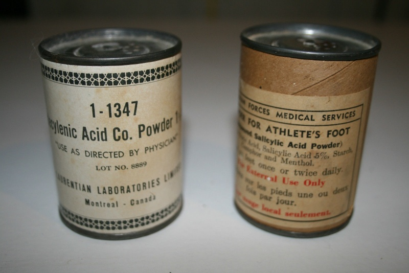 Are these tins WWII vintage? A0110