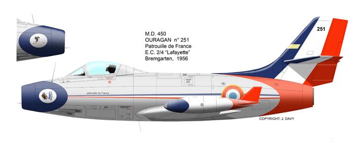 MD 450 OURAGAN de la PAF 1956 (heller) - Page 2 Our_2510