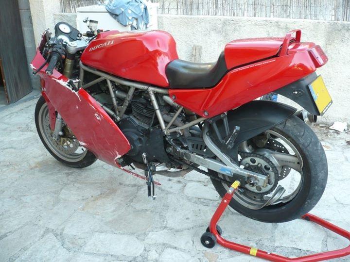 Mes pétoires KTM flat + Ducati café  Ss310