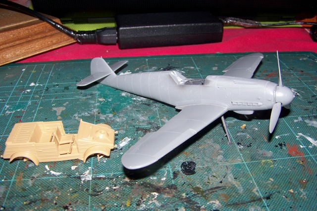 """Bf 109 G2"""" le dernier vol 30/09/1942 """"  """"der Stern von Afrika"""" Hasegawa 1/48( FINI ) 100_8813"""