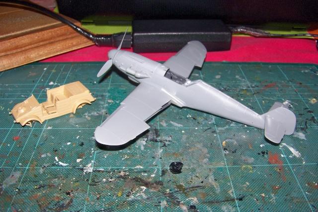 """Bf 109 G2"""" le dernier vol 30/09/1942 """"  """"der Stern von Afrika"""" Hasegawa 1/48( FINI ) 100_8814"""