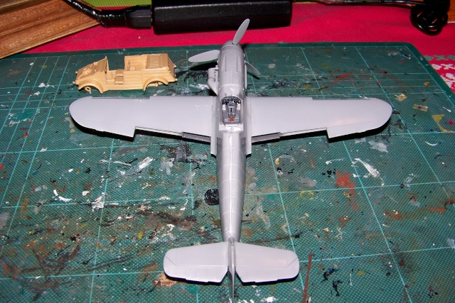 """Bf 109 G2"""" le dernier vol 30/09/1942 """"  """"der Stern von Afrika"""" Hasegawa 1/48( FINI ) 100_8815"""