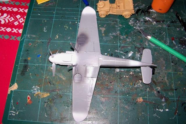 """Bf 109 G2"""" le dernier vol 30/09/1942 """"  """"der Stern von Afrika"""" Hasegawa 1/48( FINI ) 100_8823"""