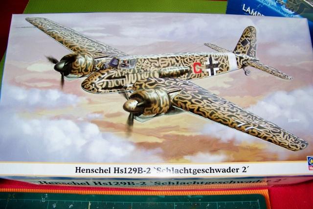 Henschel Hs129 B2 : 1/48 Lt Lazar Munteanu (fini) 100_8824