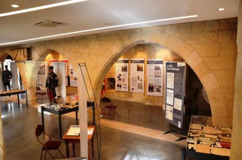 EXPO SAINT EMILION 18 RI ABBE BERGEY LES POILUS SAINT EMILIONAIS Dsc_9015