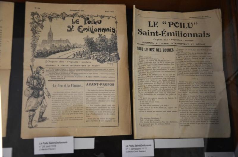 EXPO SAINT EMILION 18 RI ABBE BERGEY LES POILUS SAINT EMILIONAIS Dsc_9019