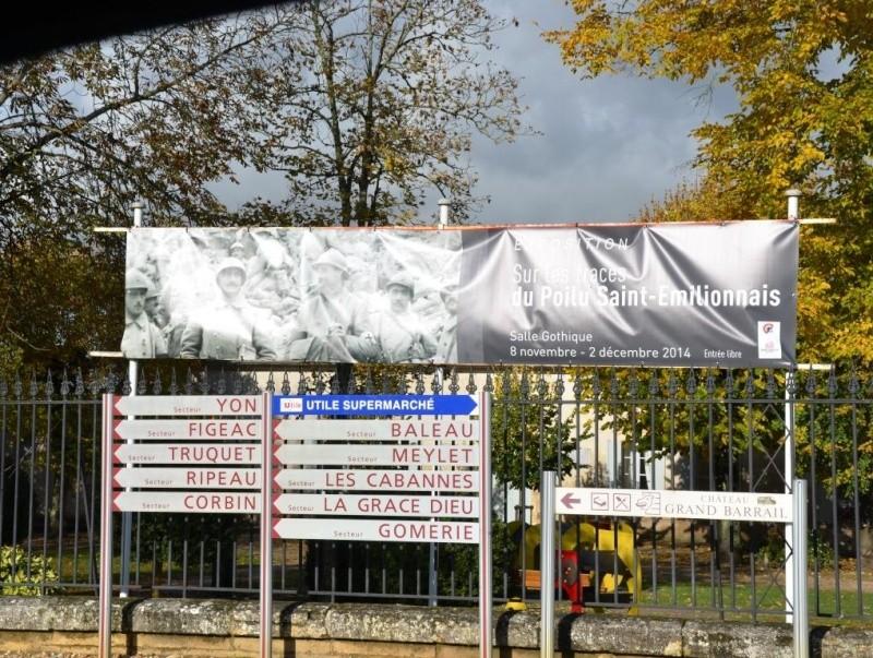 EXPO SAINT EMILION 18 RI ABBE BERGEY LES POILUS SAINT EMILIONAIS Dsc_9111