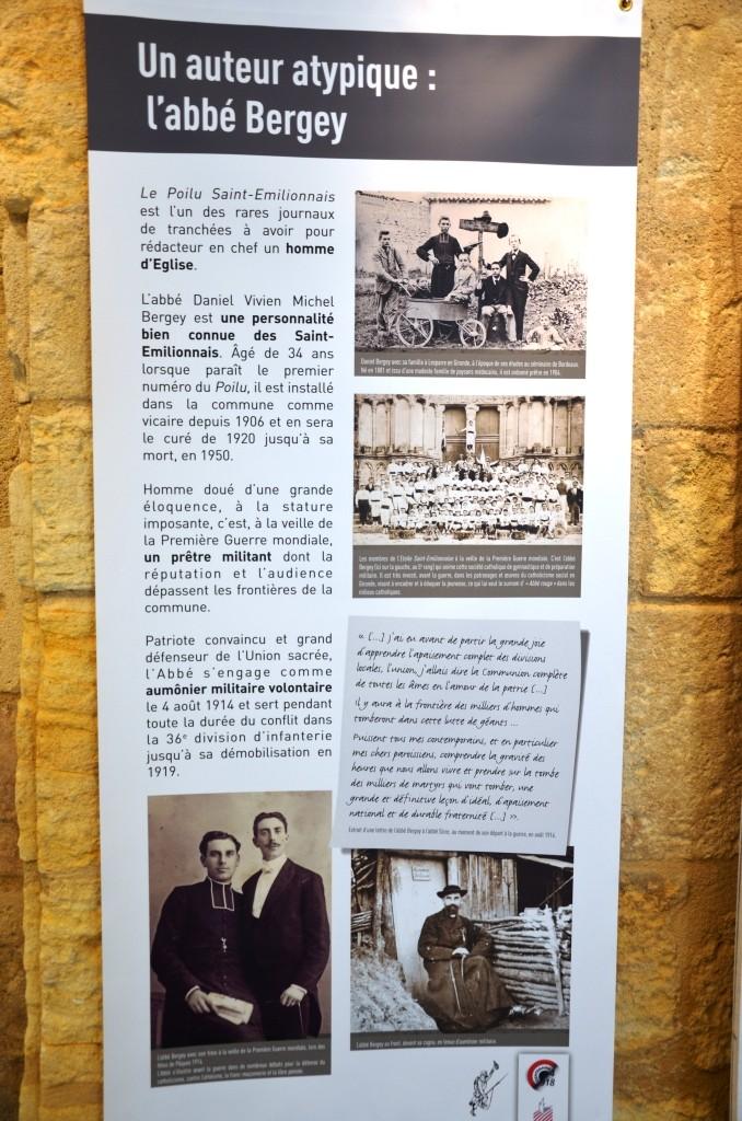EXPO SAINT EMILION 18 RI ABBE BERGEY LES POILUS SAINT EMILIONAIS Dsc_9113
