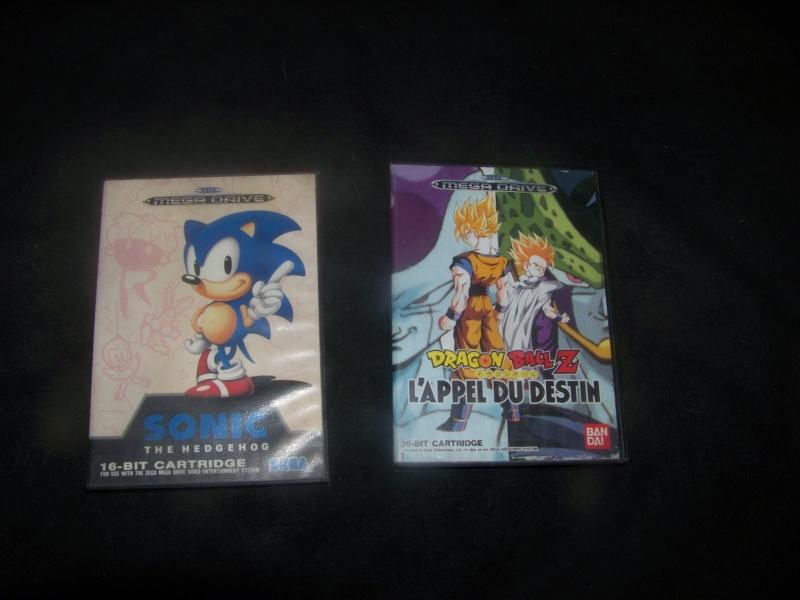 console et jeux Sega Megadrive 100_2136