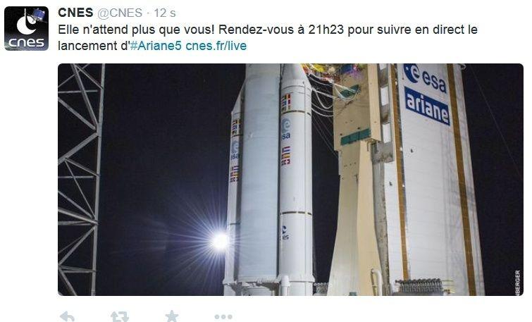 Lancement Ariane 5 ECA VA221 / DirecTV-14 & GSAT-16 - [Succès] - Page 2 Captur10