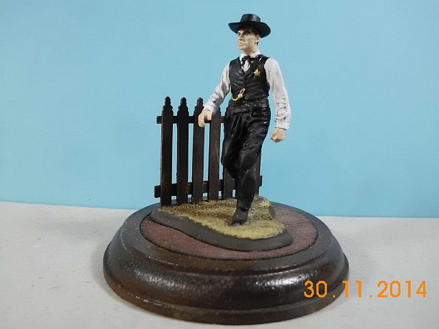 """Andrea S4-F15 """"Golden West"""" - High Noon 54mm - Galerie 117"""
