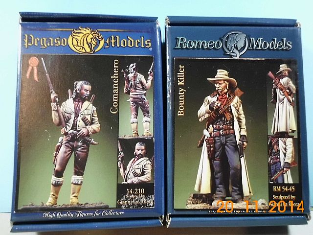 Romeo Models RM54-45 - Bounty Killer - Zinnbausatz in 54mm - Vorstellung 1a11