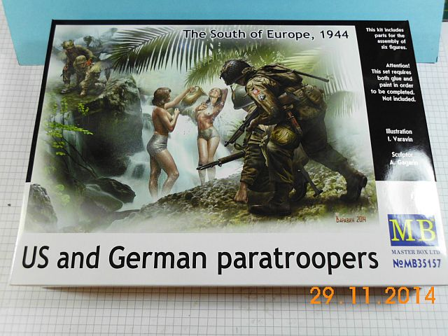 Masterbox MB 35157 - US + German Voyeur Paratroopers - 1/35 - Vorstellung 511