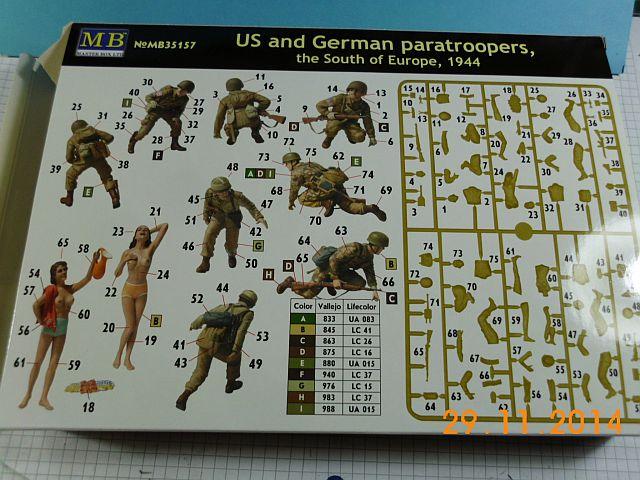 Masterbox MB 35157 - US + German Voyeur Paratroopers - 1/35 - Vorstellung 5a10