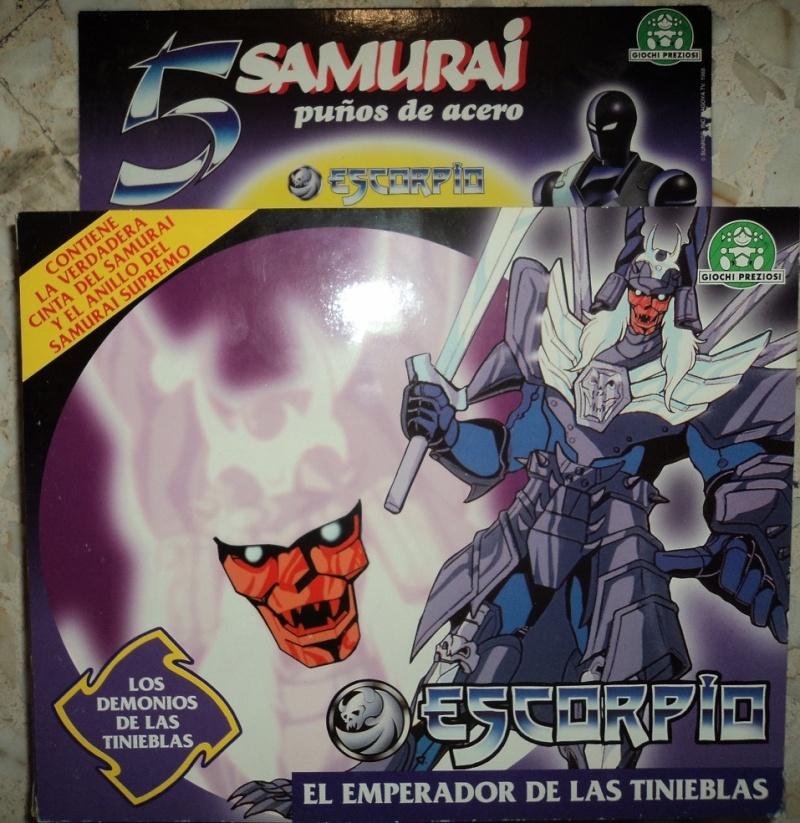 cerco 5 samurai in scatola  Samu_810