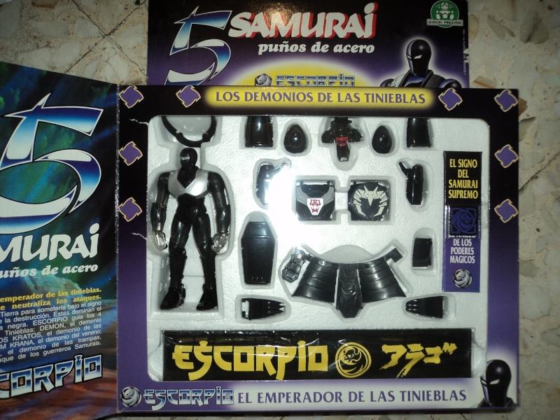 cerco 5 samurai in scatola  Samu_811