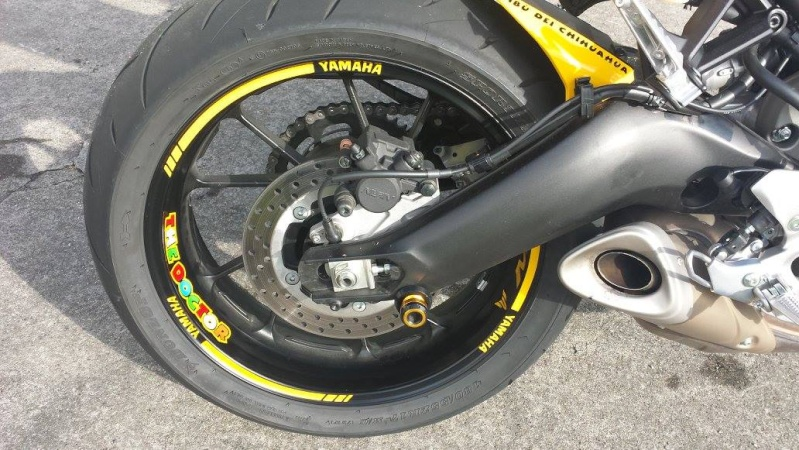 Ma MT 09 Factory line - ROSSI LIMITED 410