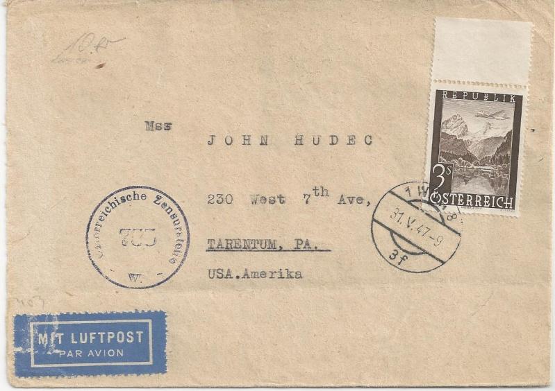 Flugpostausgabe 1947 Bild15