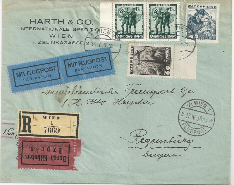 Österreich im III. Reich (Ostmark) Belege - Seite 5 Bild29