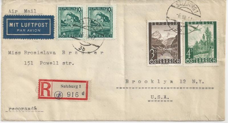 Flugpostausgabe 1947 Bild_112