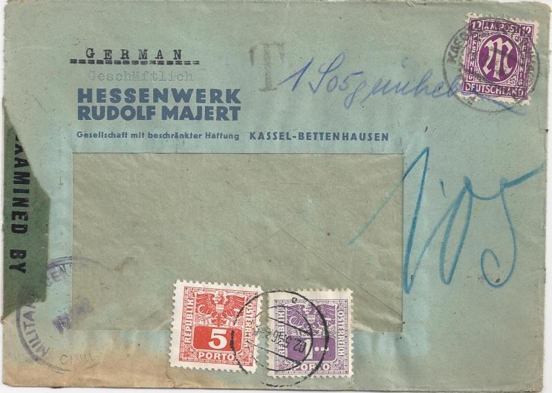 Verwendung von Portomarken in Österreich Bild_118