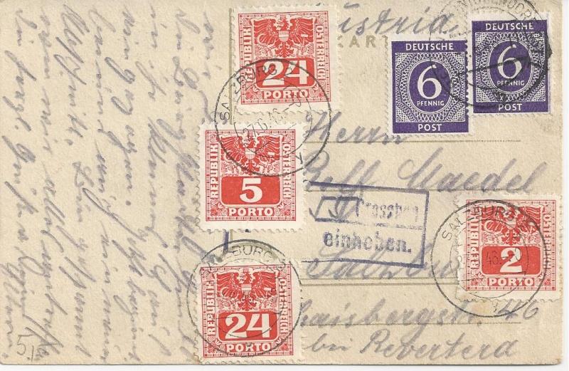 Verwendung von Portomarken in Österreich Bild_119
