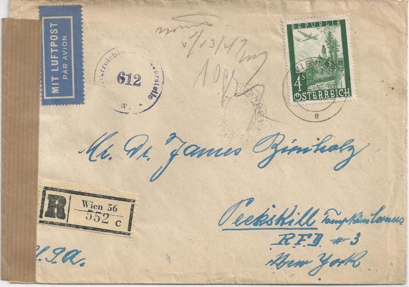 Flugpostausgabe 1947 Bild_214