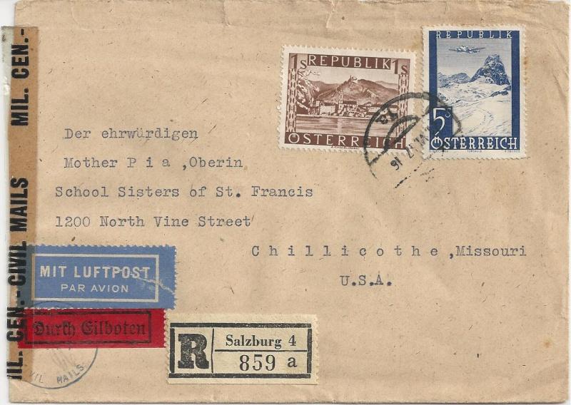 Flugpostausgabe 1947 Bild_314