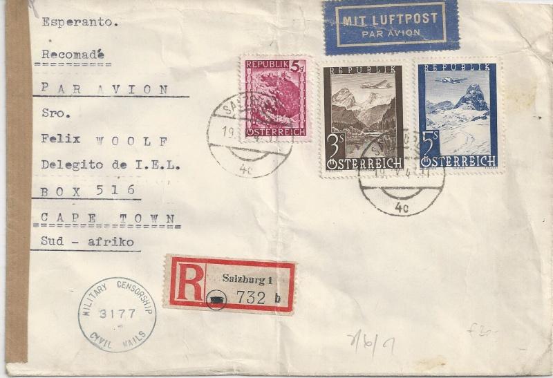 Flugpostausgabe 1947 Bild_315