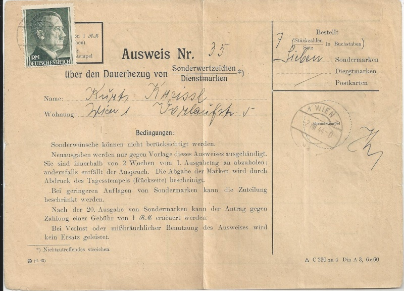 Österreich im III. Reich (Ostmark) Belege - Seite 5 Bild_320