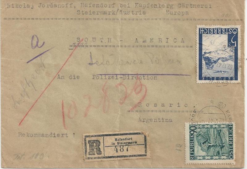 Flugpostausgabe 1947 Bild_413