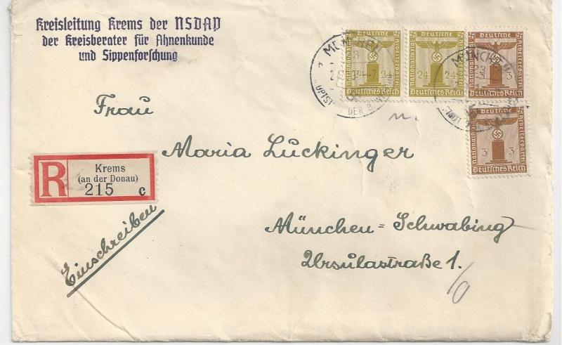 Österreich im III. Reich (Ostmark) Belege - Seite 5 Bild_516
