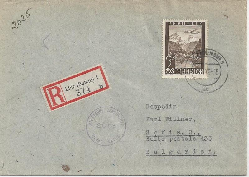 Flugpostausgabe 1947 Bild_811
