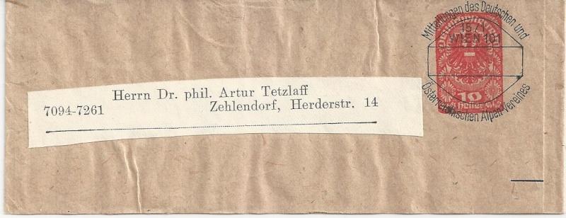 Inflation in Österreich - Belege - 1918 bis 1925 - Seite 2 Bild_813