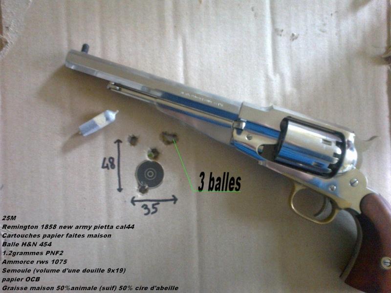 Épaissir guidon remington 1858 28112011