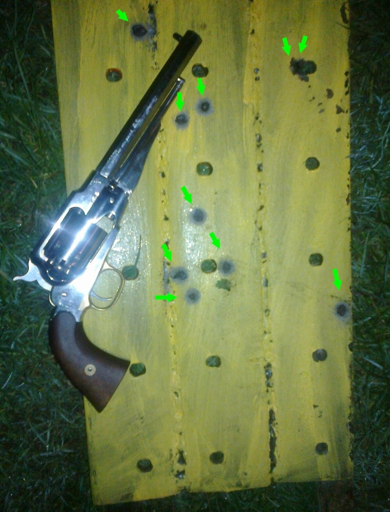 Épaissir guidon remington 1858 30112010