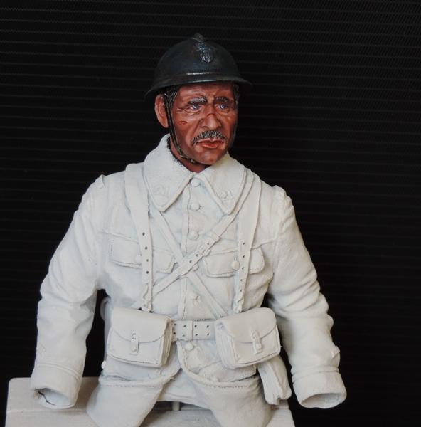Buste de soldat français WW1 par Gabriel Dscn1013